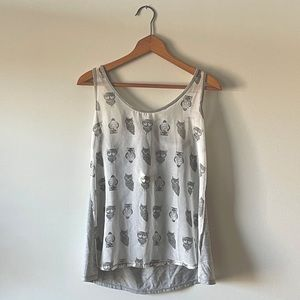 NWT Anthropologie Nocturnal Wings Tank